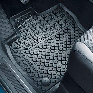 Коврики в салон Volkswagen Touran 2, всепогодные передние и задние