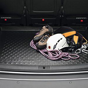 Коврик в багажник Volkswagen Touran 1 / 2, 5-местный, с надписью