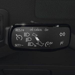Круиз-контроль Volkswagen Touran (5T) с 2016 года, для автомобилей без многофункционального рулевого колеса