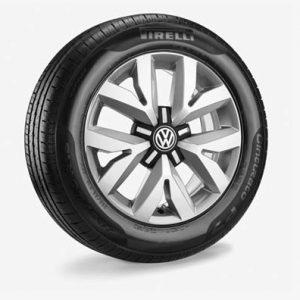 Летнее колесо в сборе VW Touran в дизайне Auckland,  205/60 R16 96 V XL, Silver, 6.5J x 16 ET48