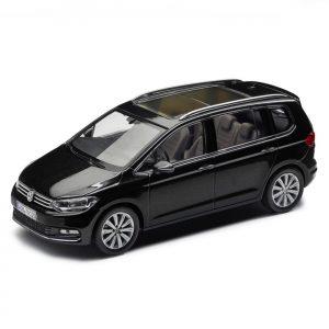 Модель в миниатюре 1:43 Volkswagen Touran, Deep Black Perleffect