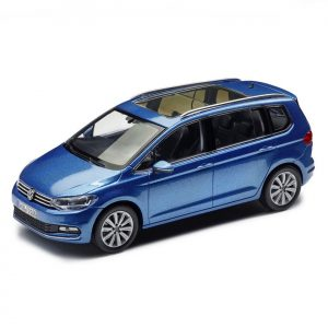 Модель в миниатюре 1:43 Volkswagen Touran, Caribbean Blue Metallic
