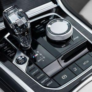 Хрустальная ручка для АКПП BMW X5 G05 / X6 G06 / X7 G07