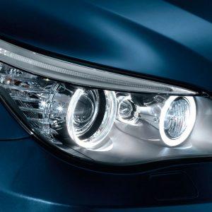 Синие галогенные лампы BMW W5W
