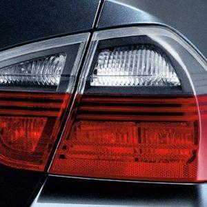 Комплект задних фонарей BMW Black Line, E90 3 серия