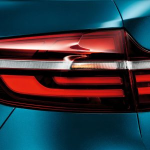 Задние фонари BMW Black Line X6, E72/E71 ECE