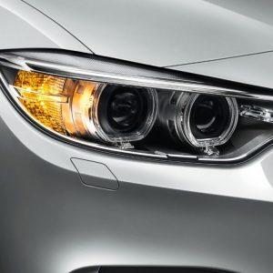 Лампы поворотники хромированные BMW PY21W