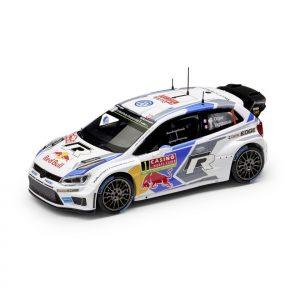 Модель в миниатюре 1:43 Volkswagen Polo R WRC 2014, Sibastien Ogier