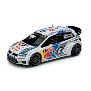 Модель в миниатюре 1:43 Volkswagen Polo R WRC, Andreas Mikkelsen