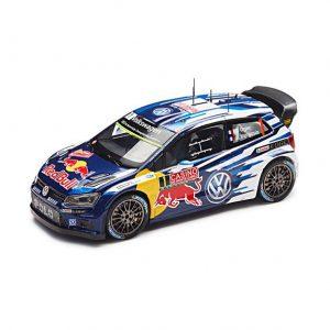 Модель в миниатюре 1:43 Volkswagen Polo R WRC, Ogier, Ingrassia