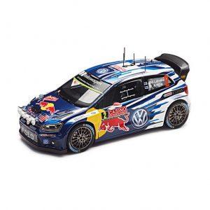 Модель в миниатюре 1:43 Volkswagen Polo R WRC, Latvala, Anttila