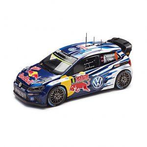 Модель в миниатюре 1:43 Volkswagen Polo R WRC, Mikkelsen, Floene
