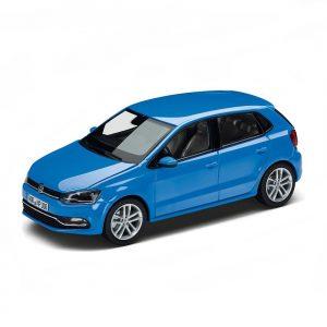 Модель в миниатюре 1:43 Volkswagen Polo V, Cornflower blue