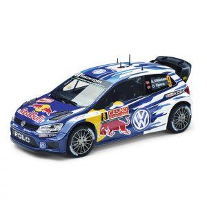 Модель в миниатюре 1:18 Volkswagen Polo R WRC, Mikkelsen / Floene