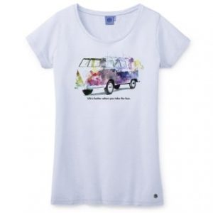 Женская футболка Volkswagen T1, Light Blue