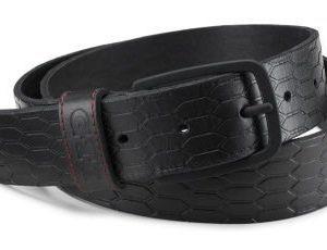 Мужской кожаный ремень Volkswagen GTI Belt, Men, Black