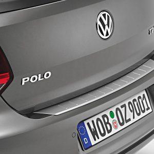 Защитная накладка на задний бампер Volkswagen Polo 5