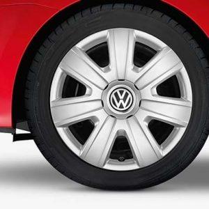 Комплект колесных колпаков R14 Volkswagen, Silver