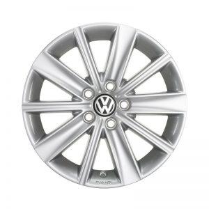 Диск литой R15 Volkswagen, Zirkonia Brilliant Silver, 6J x 15 ET40