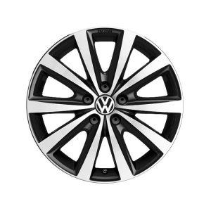 Диск литой R17 Volkswagen, Syenit Black Glossy, 7J x 16 ET46