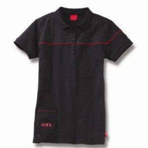 Женская рубашка поло Volkswagen GTI, Black