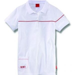 Женская рубашка поло Volkswagen  GTI, White
