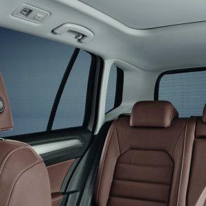 Солнцезащитные шторки Volkswagen Polo 5, 4-дверный, для стекол задних дверей, задних боковых стекол и для заднего стекла