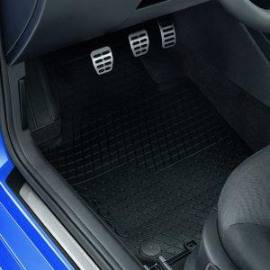 Коврики в салон Volkswagen Polo Sedan, всепогодные передние и задние