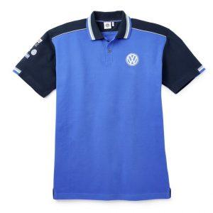 Женская рубашка-поло Volkswagen Motorsport, Blue