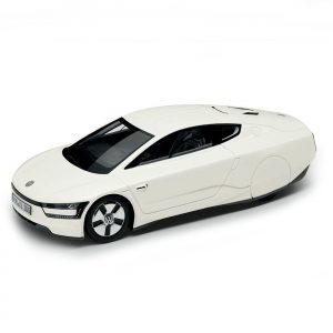 Модель в миниатюре 1:43 Volkswagen XL1, Oryx White