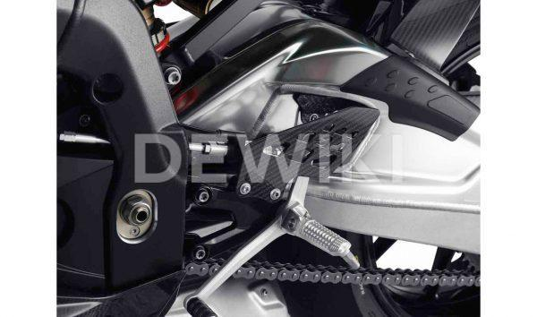 Защита пятки HP Carbon BMW S 1000 RR 2009-2015 году, левая