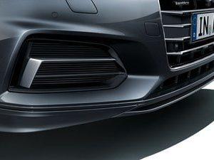 Передний спойлер с накладкой Audi A5 Coupe (T5/B9)