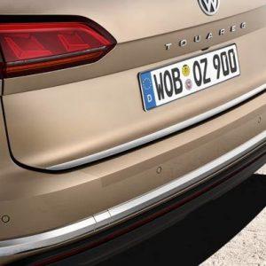 Защитная пленка на задний бампер Volkswagen Toureg (D2)