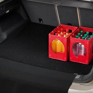 Коврик в багажник Volkswagen Toureg (D2), двусторонний откидной