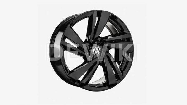 Диск литой R20 Volkswagen, NEVADA Black, 9,0J x 20 ET33