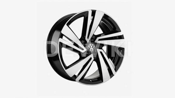 Диск литой R20 Volkswagen, NEVADA Black Silver, 9,0J x 20 ET33