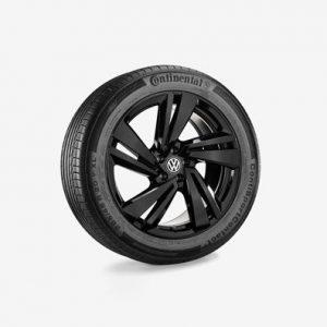 Зимнее колесо в сборе VW Touareg в дизайне Nevada, 285/45 R20 112V XL, Black, 9.0J x 20 ET33