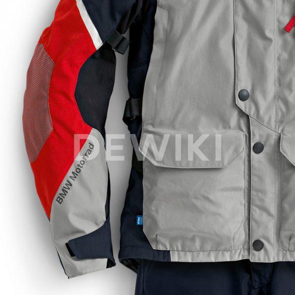Мужская мотокуртка BMW Motorrad GS Dry, Grey/Blue/Red