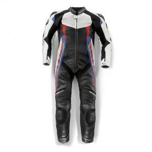 Мужской гоночный мотокостюм BMW Motorrad DoubleR Race Air, Black / White