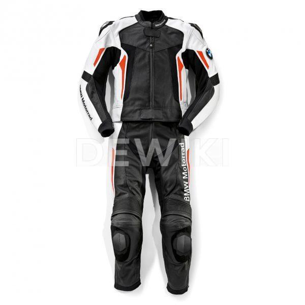 Мужская кожаная мотокуртка BMW Motorrad Sport, Black