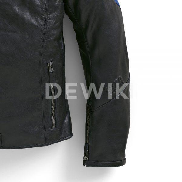 Мужская кожаная куртка BMW Motorrad Club, Black