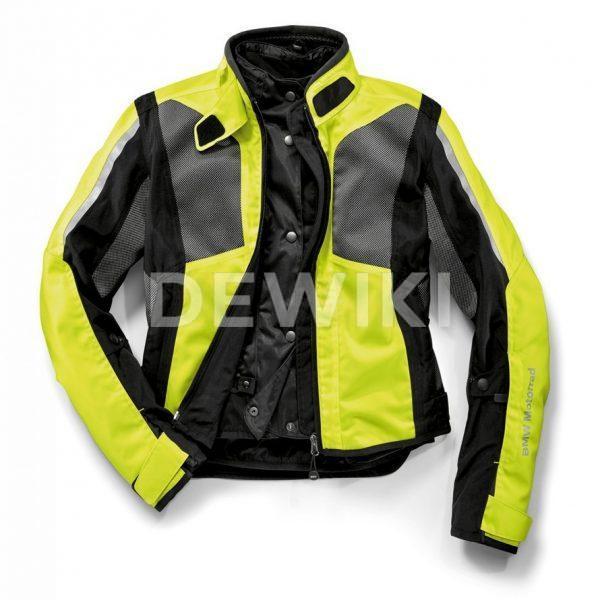 Женская мотокуртка BMW Motorrad AirShell, Neon-yellow