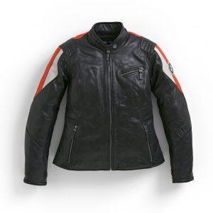 Женская кожаная куртка BMW Motorrad Club, Black