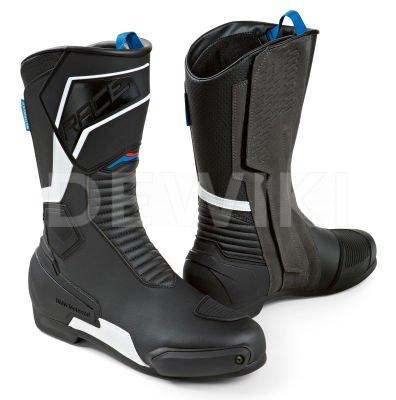 Кожаные сапоги унисекс BMW ProRace, Black