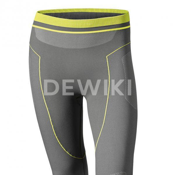 Мужские летние термоштаны 3/4 BMW Motorrad  Functional Undergarments, Gray/Yellow