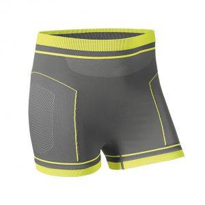 Мужские летние термошорты BMW Motorrad Functional Undergarments, Gray/Yellow