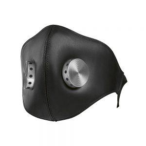 Кожаная маска для мотошлема BMW Bowler, черная