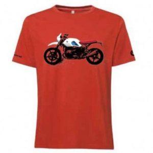 Мужская футболка BMW Motorrad, R nineT Urban GS, Orange