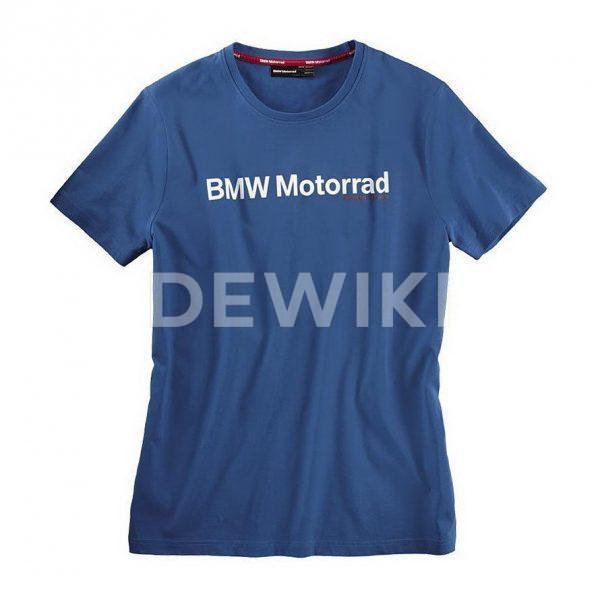 Мужская футболка BMW Motorrad Logo, Blue