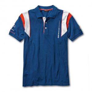 Мужская рубашка-поло BMW Motorrad Motorsport, Blue